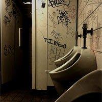 Restroom Vandalized