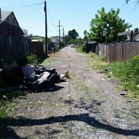 Alley Trash
