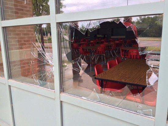 Broken Window Vandalism
