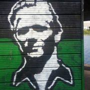 lumber yard graffiti