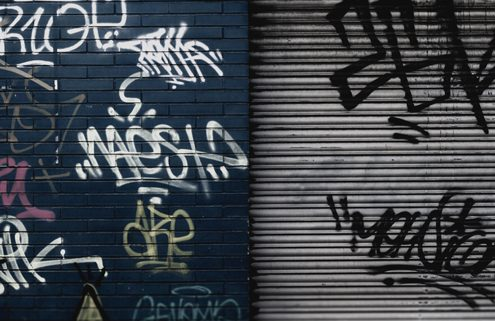 Graffiti: Fines and Community Service