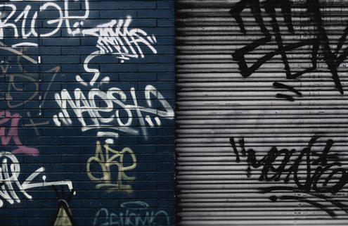 Graffiti: Fines and Community Service