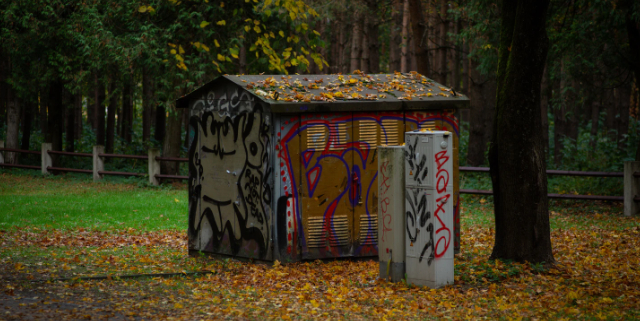 Stop Park Graffiti-Stop Community Depression